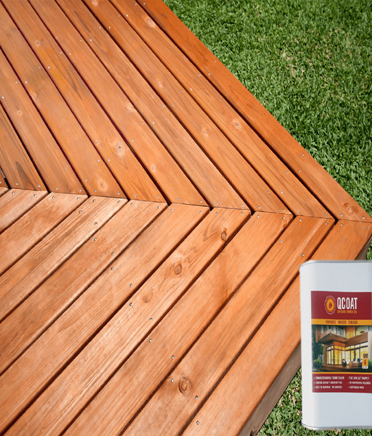 Prestained & Pre Oiled Treated Pine Decking